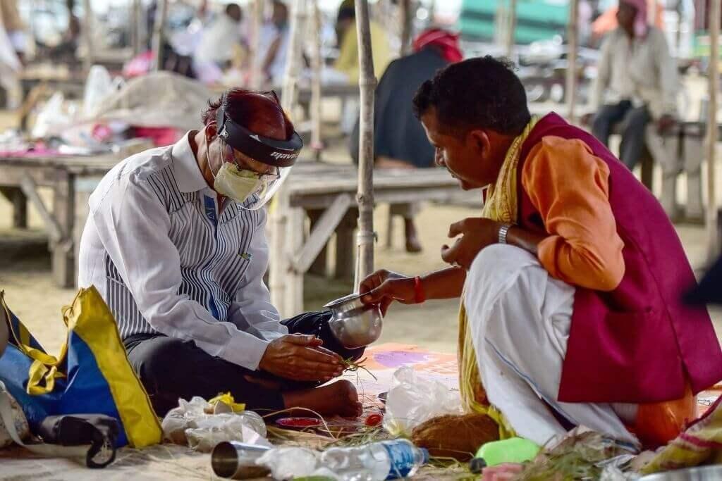 Pind Daan ritual in Gaya
